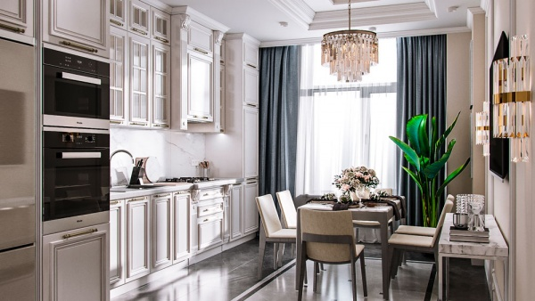 Дизайн 3-х комнатной квартиры в новом доме
