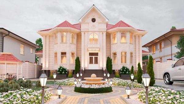 Жилой дом в современном стиле