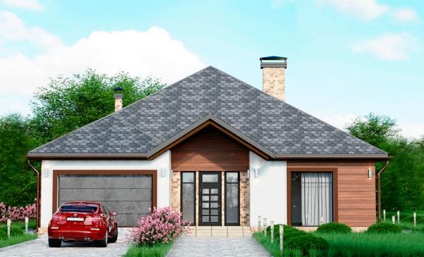 Проект дома с мансардой 250 м2