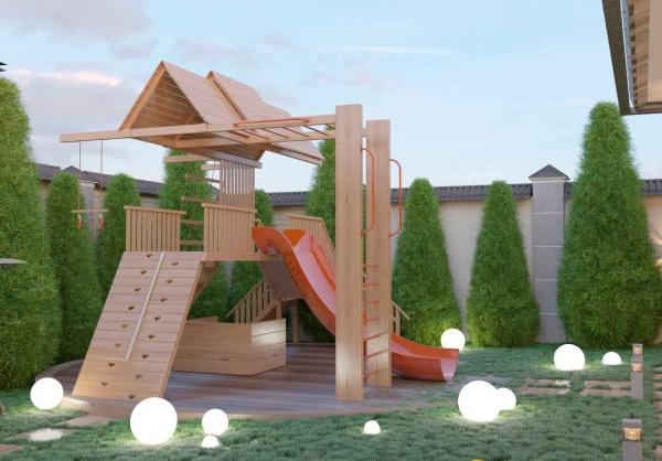 Проект ландшафтного дизайна для частного дома