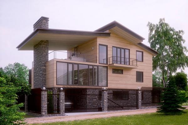 Проект современного дома Ала-Арча