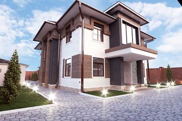 Частный жилой дом в с. Орто-Сай