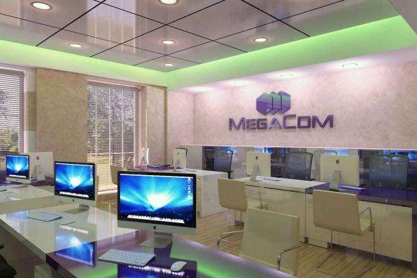 Офис для компании Megacom