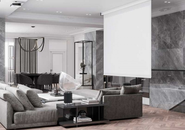 Современная двухэтажная квартира