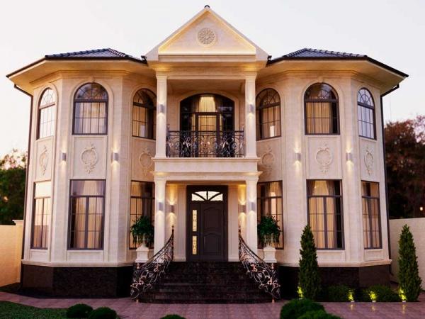 Дом в легкой классике 450 м2